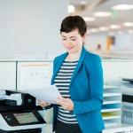 funciones avanzadas de una impresora para empresas