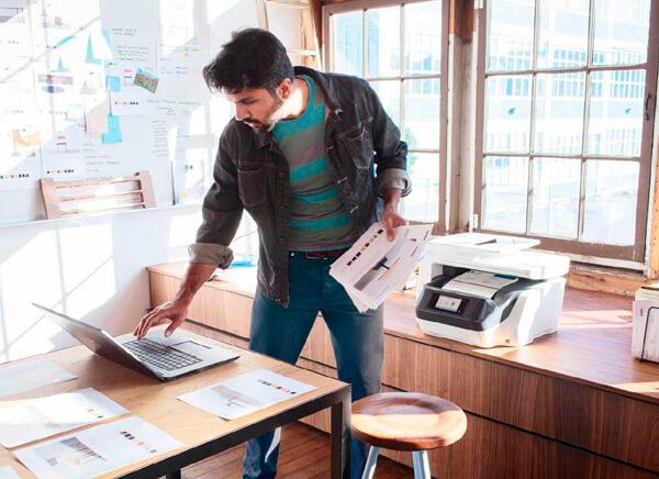 calcular paginas que imprimimos al mes