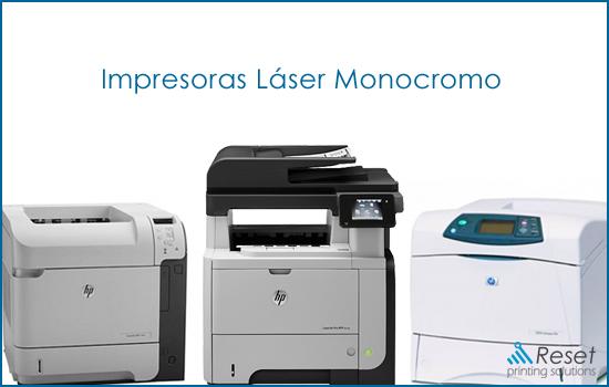 mejores impresoras laser monocromo hp