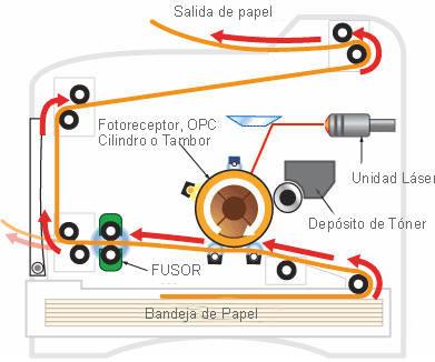 que es el fusor de una impresora