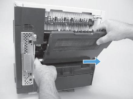 cambiar fusor hp laserjet enterprise m606