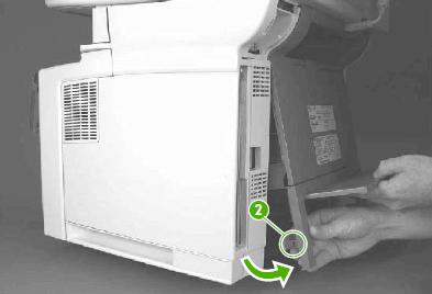 instrucciones cambio fusor hp m3027
