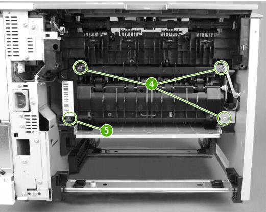 instrucciones fusor hp laserjet p3005