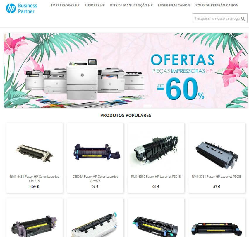 fusores impressoras hp