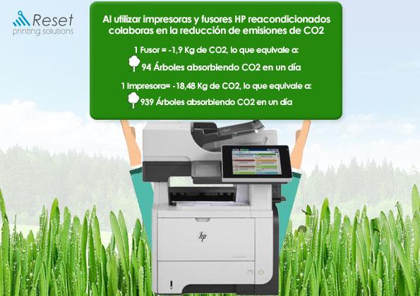 impresoras ecologicas hp