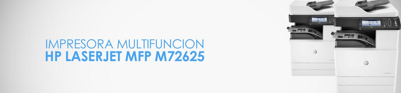caracteristicas impresora hp m72625