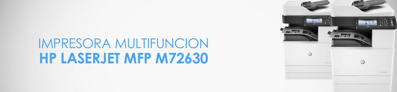 caracteristicas impresora hp m72630