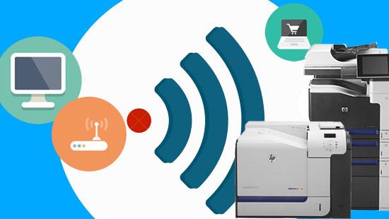 convertir impresora de red en wifi