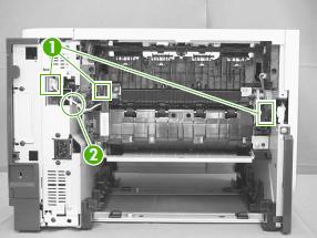 instrucciones cambio fuser p3015