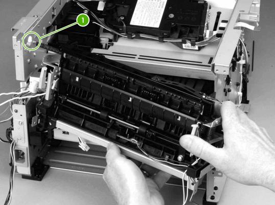 como cambiar fusor hp p2015