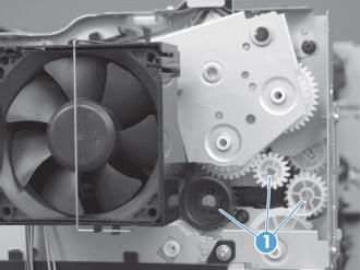 cambiar fusor impresora m425