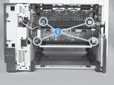como cambiar fusor hp laserjet enterprise m525