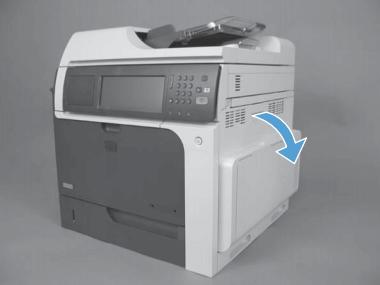 cambiar fusor hp color laserjet cm4540