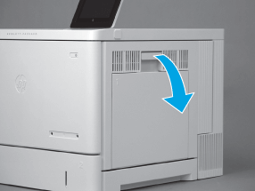 cambiar fusor hp color laserjet managed e55040