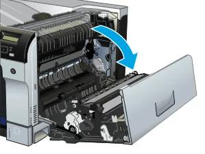 como cambiar fusor hp color laserjet enterprise cp5525