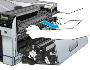 instrucciones fusor hp cp5525