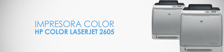 caracteristicas impresora hp 2605