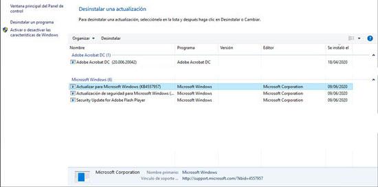 solucion actualiacion windows 10