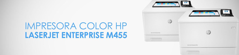 caracteristicas impresora hp m455