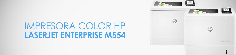 caracteristicas impresora hp m554
