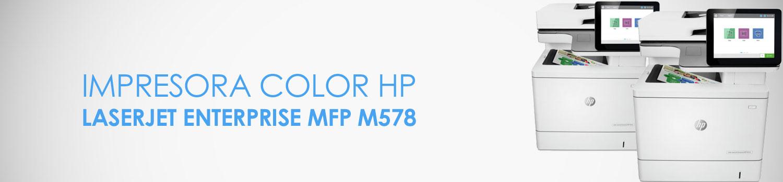 caracteristicas impresora hp m578 mfp